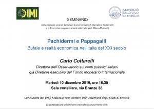 Formazione: Pachidermi e Pappagalli- 10 Dicembre 2019