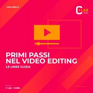 Primi passi nel video editing - 22 maggio 2020